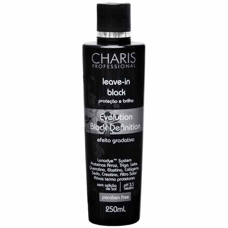 Charis Leave In Black-Evolution Black Definition