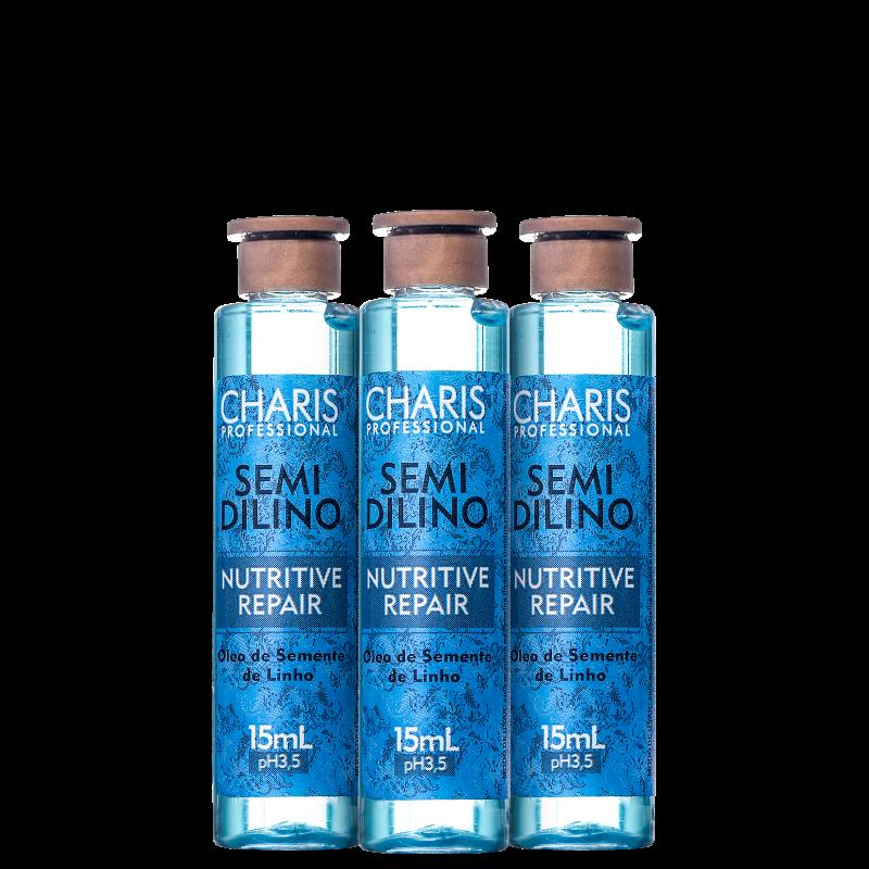 Charis Power Dose Semidilino - Ampola de Nutrição 3x15ml