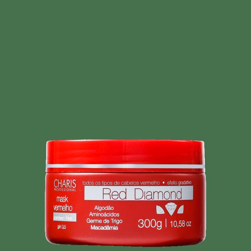 Charis Red Diamond Mask - Máscara de Tratamento 300g