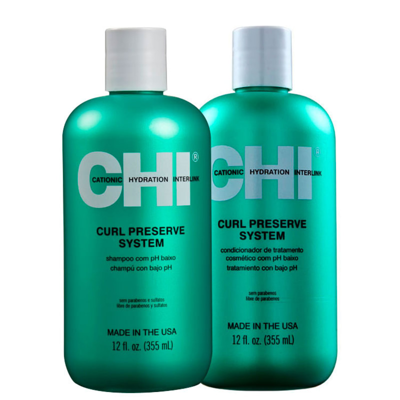 Kit CHI Curl Preserve System Duo (2 Produtos)