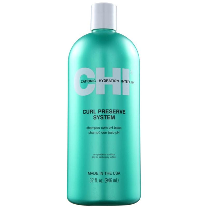CHI Curl Preserve System - Shampoo 950ml