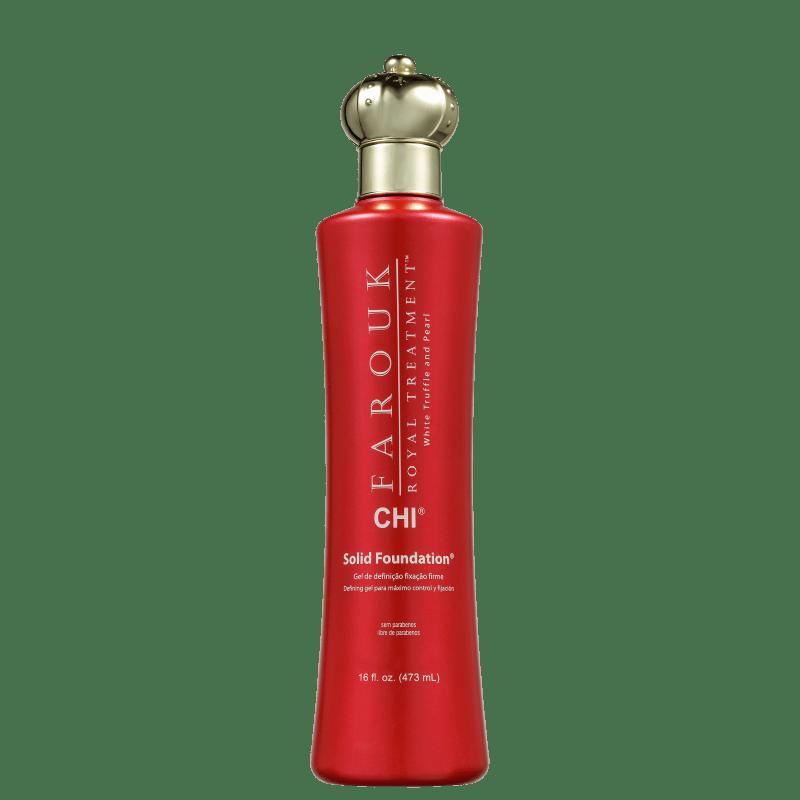 CHI Farouk Royal System Solid Foundation - Gel Fixador 473ml