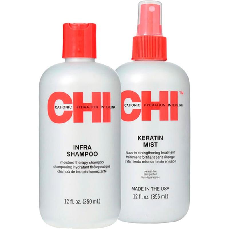 Kit CHI Infra Collection Keratin Strengthening (2 Produtos)