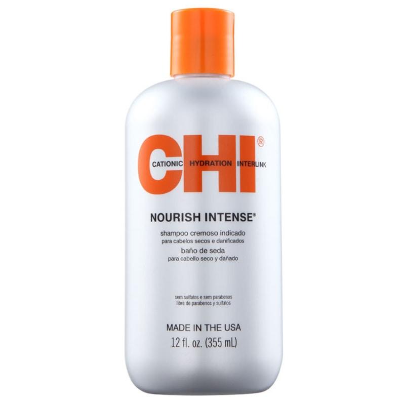 CHI Nourish Intense Hydrating Silk Bath - Shampoo 350ml
