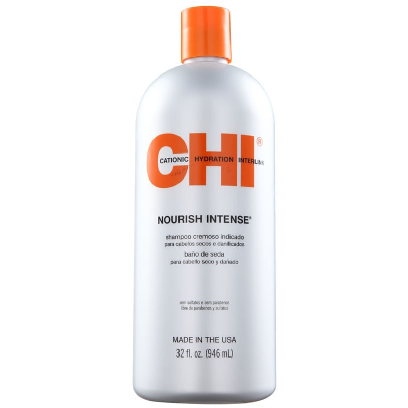 CHI Nourish Intense Hydrating Silk Bath - Shampoo 950ml