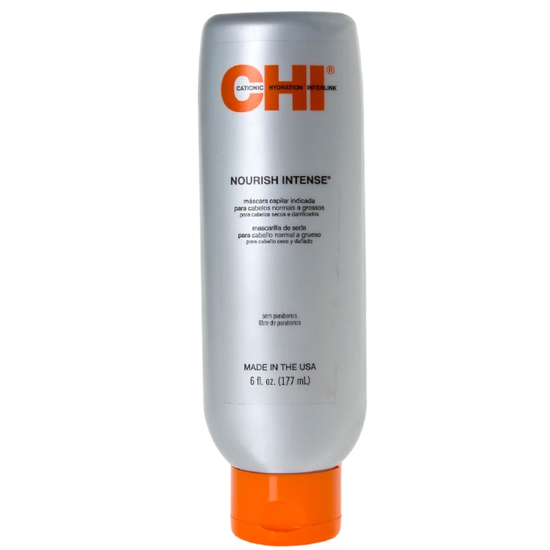 CHI Nourish Intense Silk Hair Masque for Normal To Coarse Hair - Máscara de Tratamento 177ml
