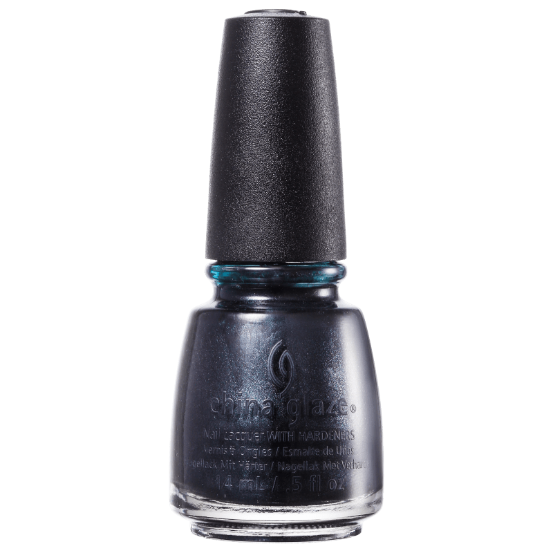 China Glaze Black Diamond - Esmalte Metálico 14ml