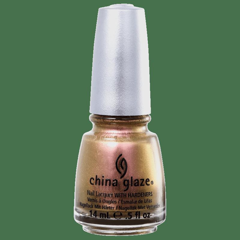 China Glaze Bohemian Swanky Silk - Esmalte Metálico 14ml