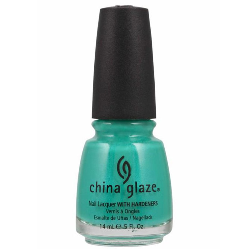 China Glaze Turned Up Turquoise - Esmalte Matte 14ml