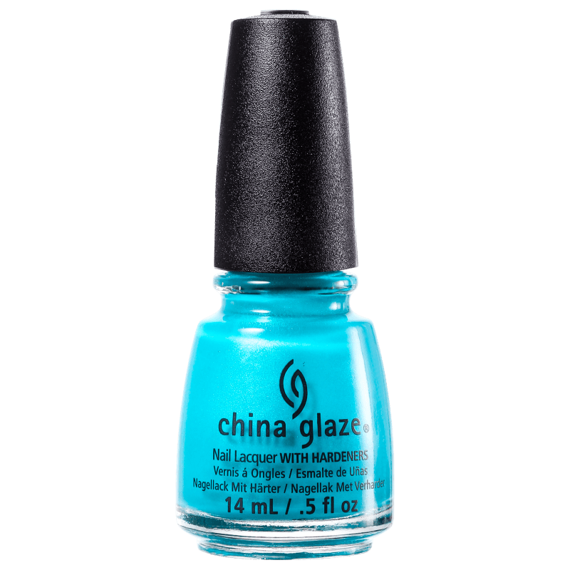 China Glaze Turned Up Turquoise - Esmalte Matte 14ml