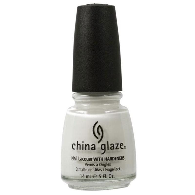 China Glaze White On White - Esmalte Cremoso 14ml