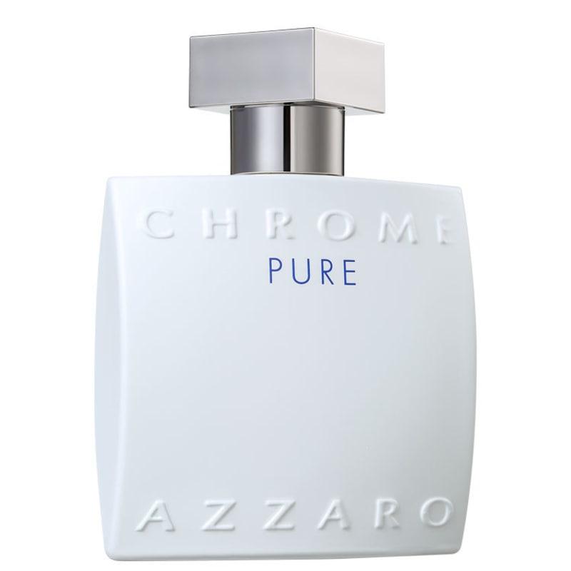 Chrome Pure Azzaro Eau de Toilette - Perfume Masculino 100ml