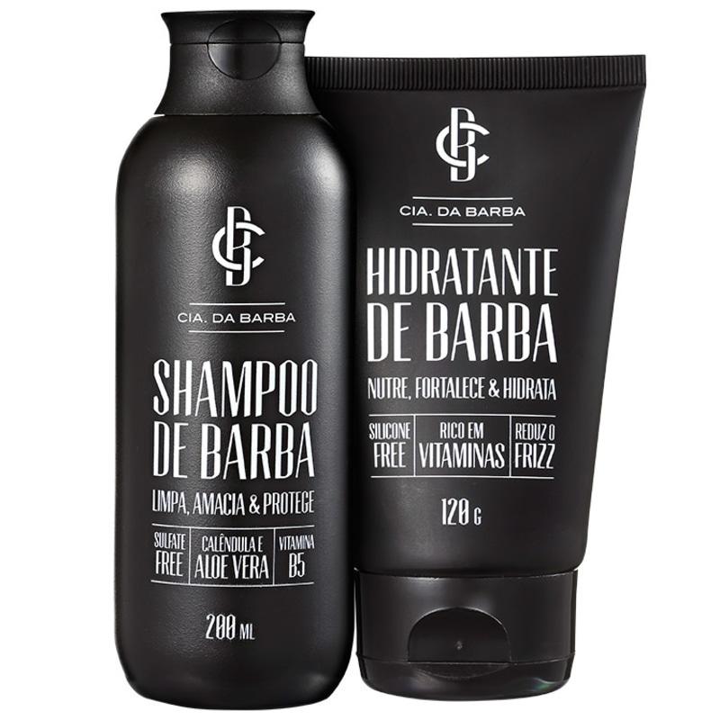 Shampoo e Hidratante de Barba Kit (2 Produtos)