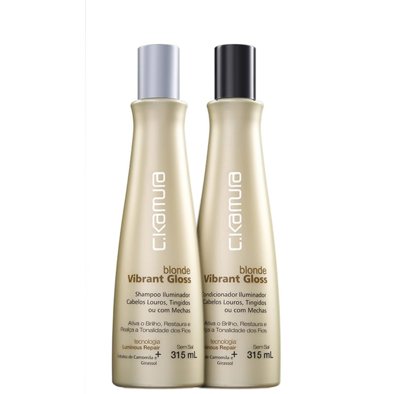 C.Kamura Blonde Vibrant Gloss Duo Kit (2 Produtos)