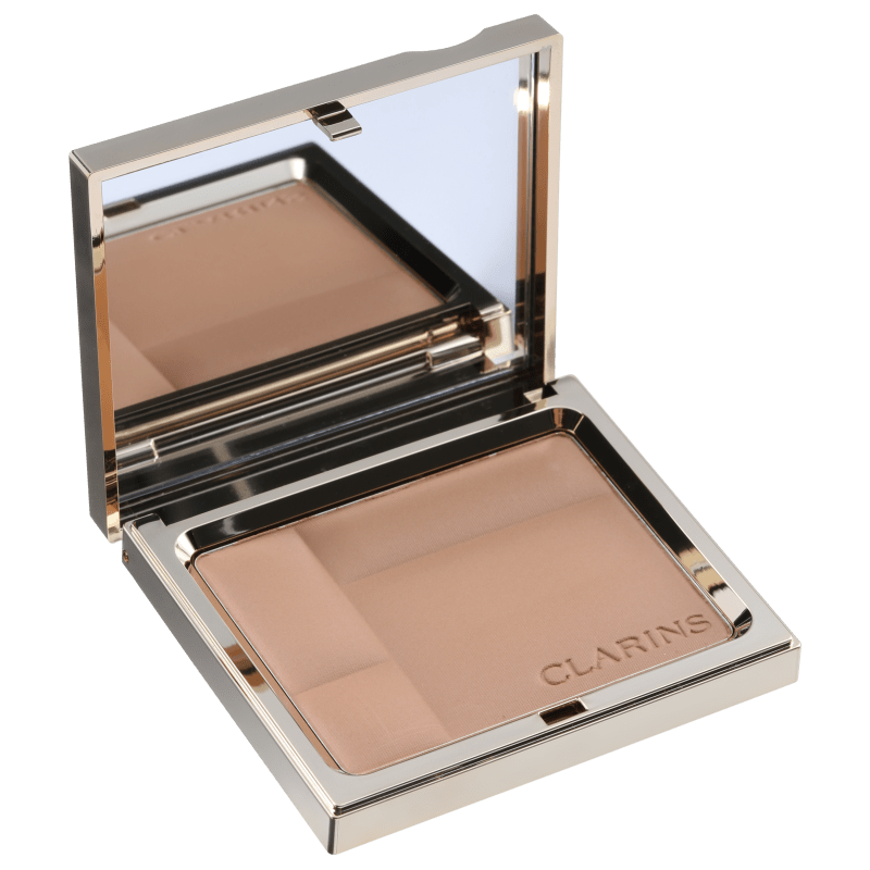 Clarins Ever Matte Shine Control Mineral Powder Compact 03 Transparent Warm - Pó Compacto Matte