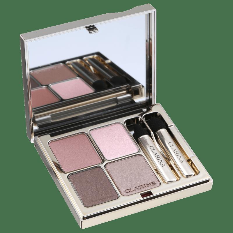 Clarins Eye Quartet Mineral 03 Rosewood - Paleta de Sombras