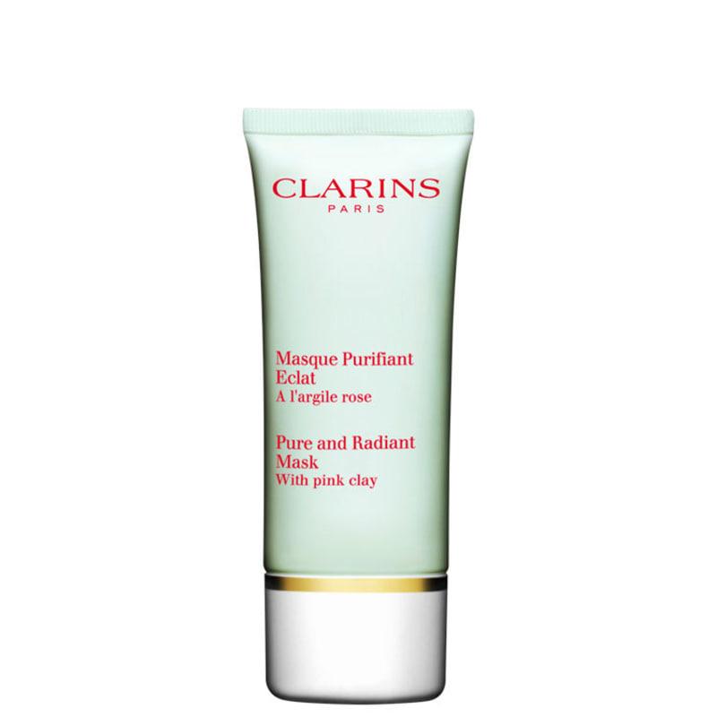 Clarins Trully Matte Pure and Radiant - Máscara de Limpeza Facial 50ml