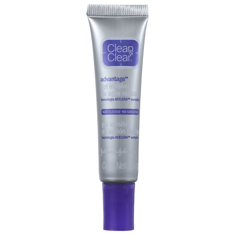 Clean & Clear Advantage Gel Invisível - Gel Secativo para Acne 15g
