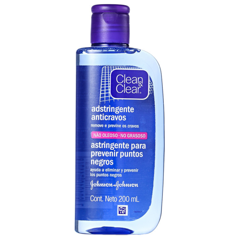 Clean & Clear Adstringente Anticravos - Adstringente Facial 200ml