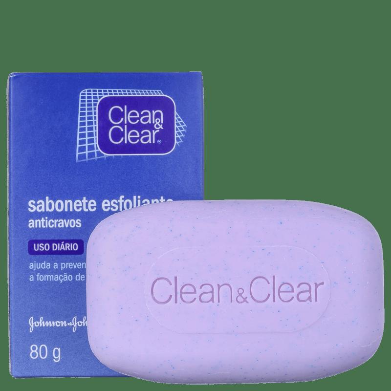 Clean & Clear - Sabonete Esfoliante para Cravos 80g