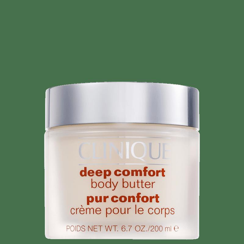 Clinique Deep Comfort Body - Manteiga Hidratante Corporal 200ml