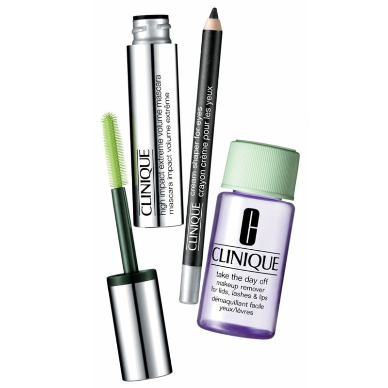 Kit Clinique High Impact Extreme Eyes (3 produtos)