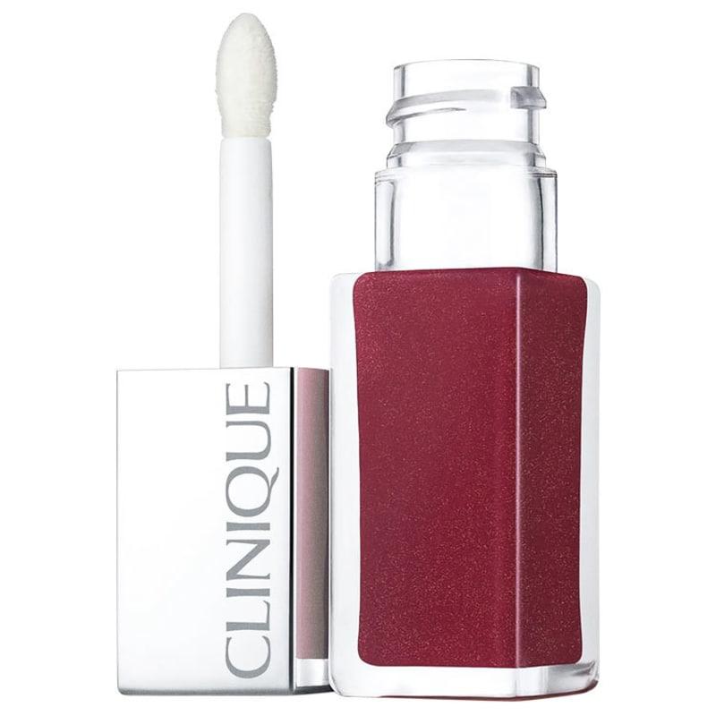 Clinique Pop Lacquer Lip Colour + Primer 6 Love Pop - Batom Líquido Espelhado 6,5g