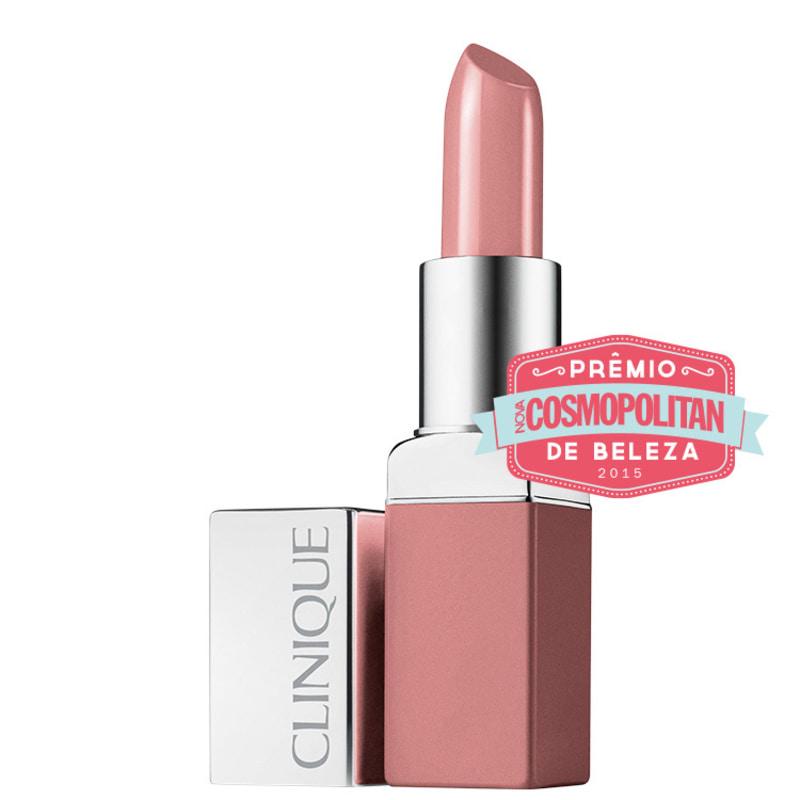 Clinique Pop Lip Colour + Primer Nude - Batom Cremoso 5g