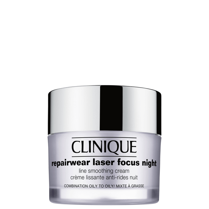 Clinique Repairwear Laser Focus Night Line Smoothing 3 e 4 - Creme Anti-Idade Noturno 50ml