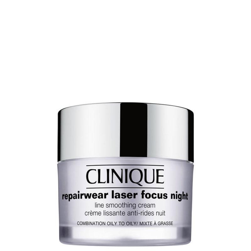 Clinique Repairwear Laser Focus Night Line Smoothing Cream 3 e 4 (pele oleosa)  - Creme Noturno 50ml