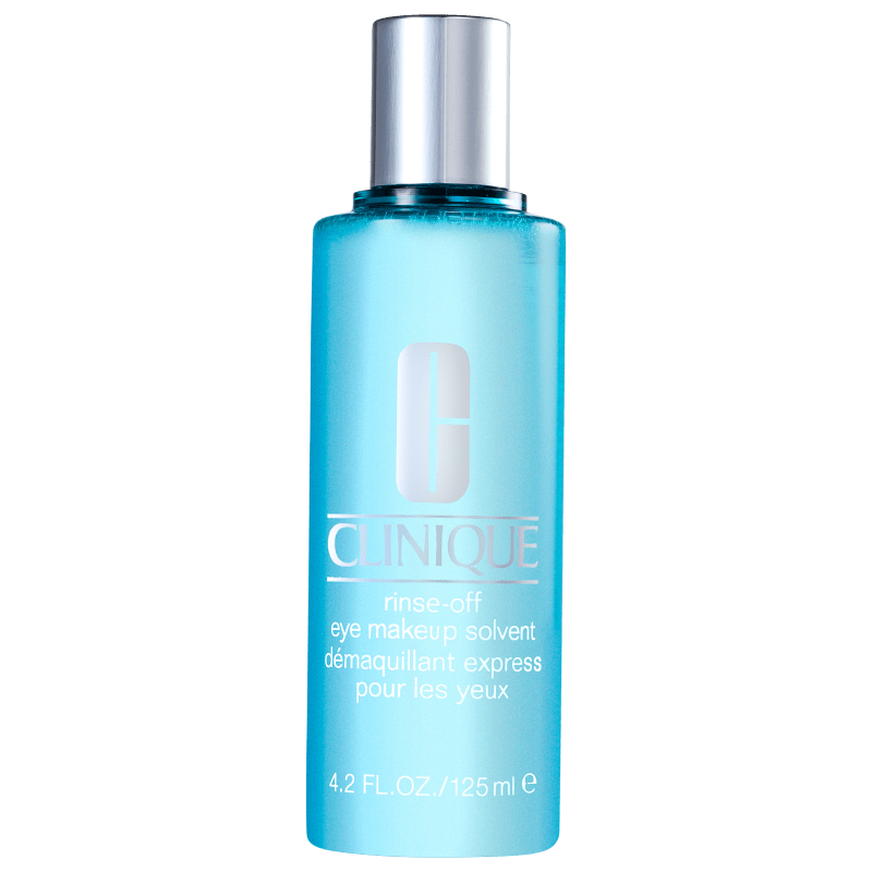 Clinique Rinse-Off Eye Makeup Solvent - Água Demaquilante para Olhos 125ml