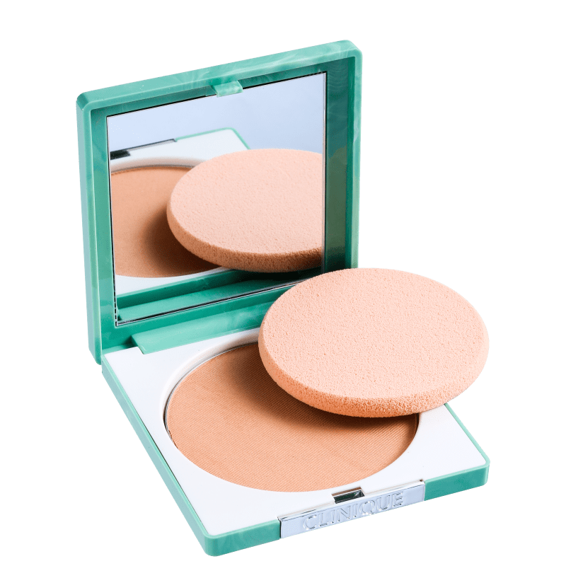 Clinique Stay Matte Sheer Pressed Powder Stay Honey - Pó Compacto Matte 7,6g