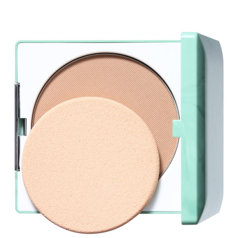 Clinique Stay Matte Sheer Pressed Powder Stay Amber - Pó Compacto Matte 7,6g