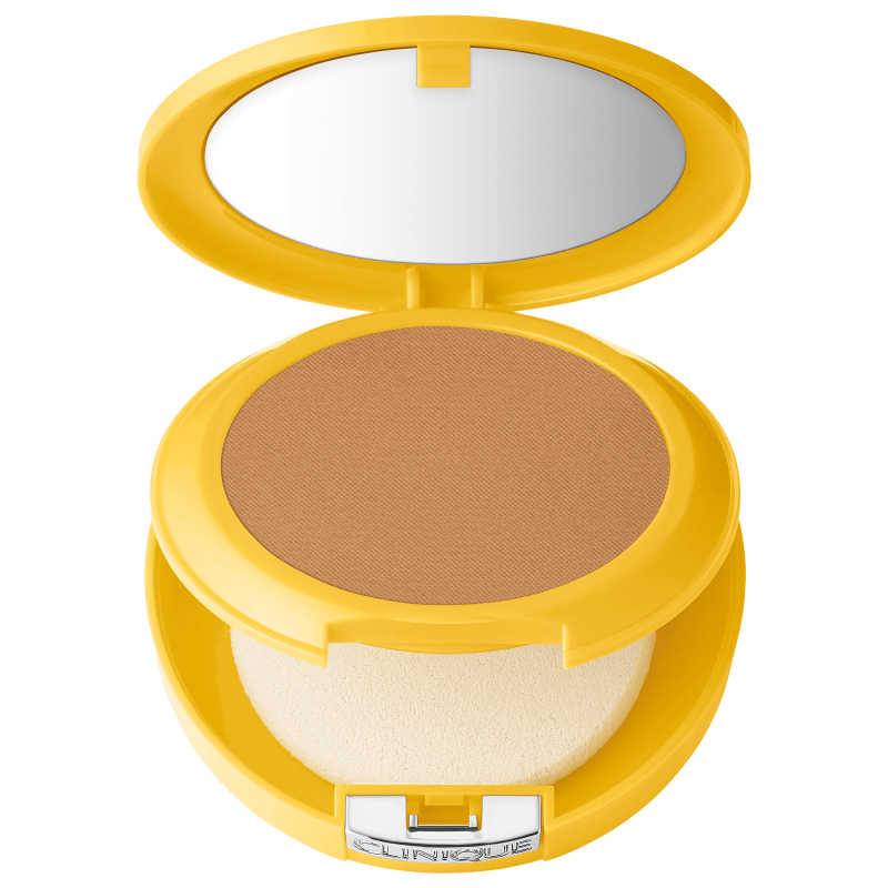 Clinique Sun Mineral Powder Makeup For Face FPS 30 Bronzed - Pó Compacto Matte