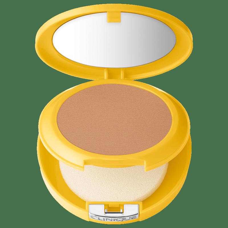 Clinique Sun Mineral Powder Makeup For Face FPS 30 Medium - Pó Compacto Matte