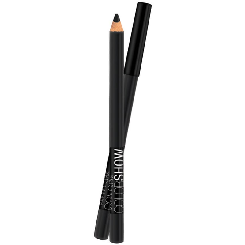 Maybelline Expertwear Eyeshadow Color Show Liner 10 Preto - Lápis de Olho 1,4g