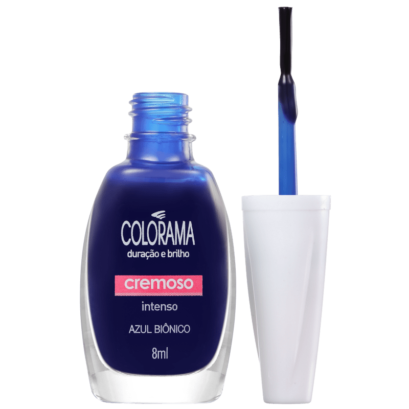Colorama As Super Cores Azul Biônico - Esmalte Cremoso 8ml