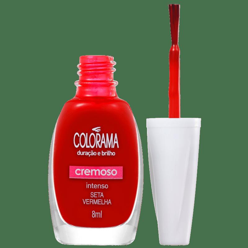 Colorama Forma em Cor Seta Vermelha - Esmalte Cremoso 8ml