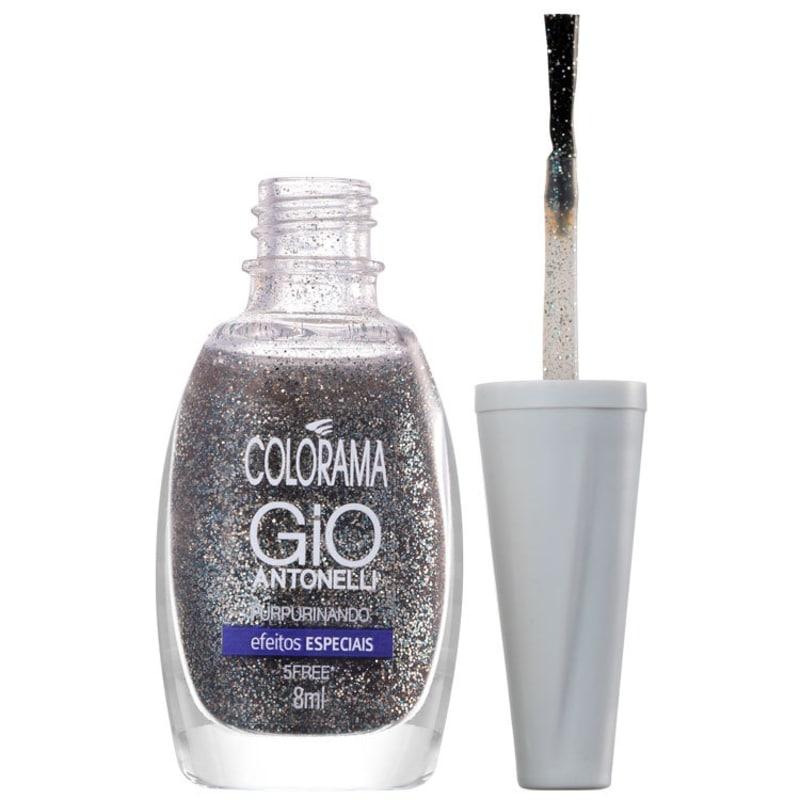 Colorama Gio Antonelli Purpurinando - Esmalte Glitter 8ml