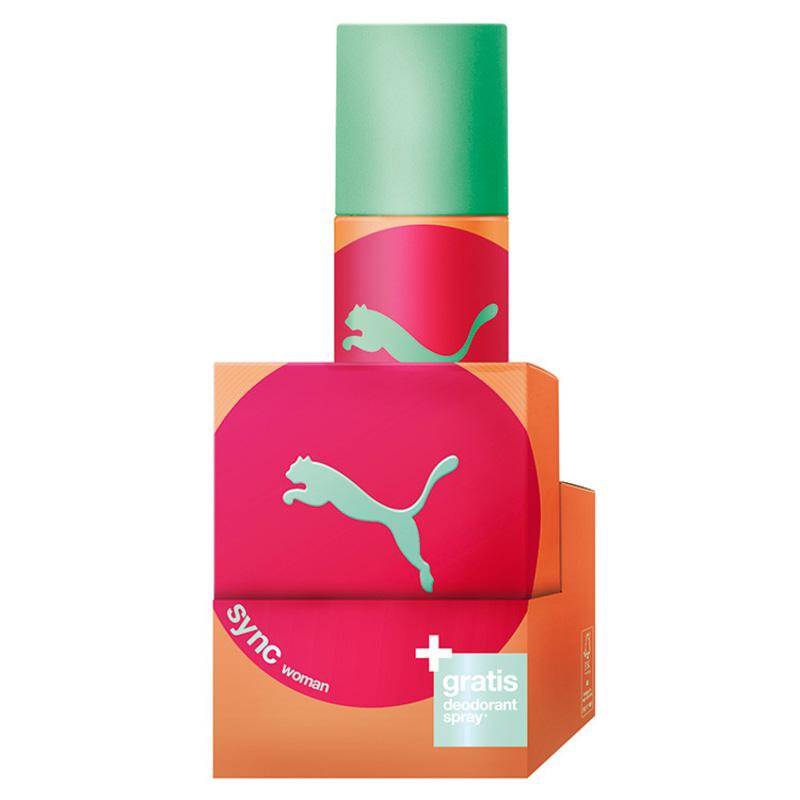 Conjunto Sync Woman Puma Feminino - Eau de Toilette 40ml + Desodorante 150ml
