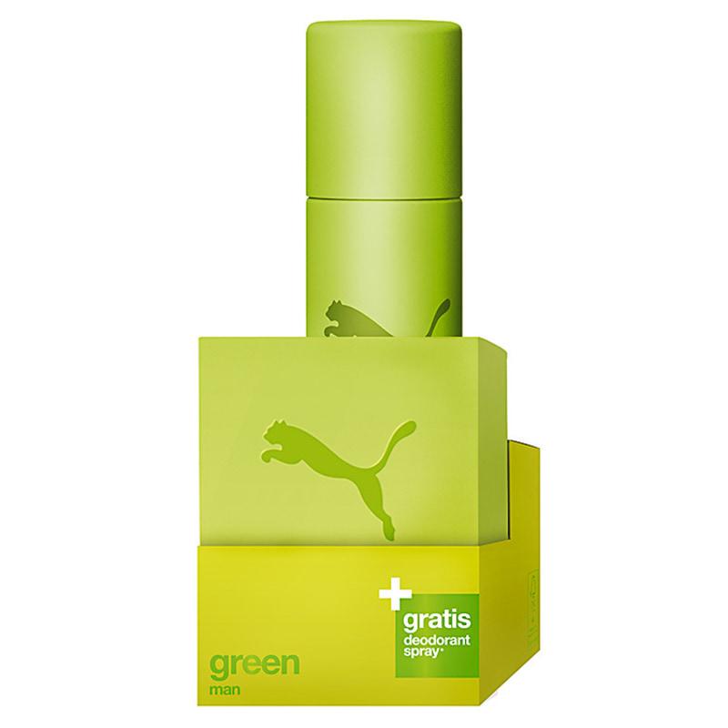 Conjunto Green Puma Masculino - Eau de Toilette 40ml + Desodorante 150ml