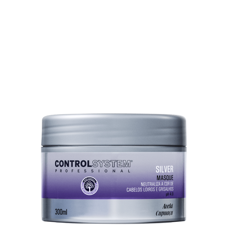 Control System Professional Silver Masque - Máscara de Tratamento 300ml