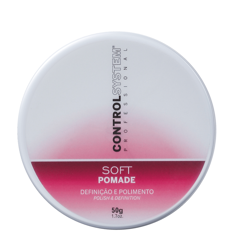 Control System Professional Soft Pomade - Pomada Modeladora 50g