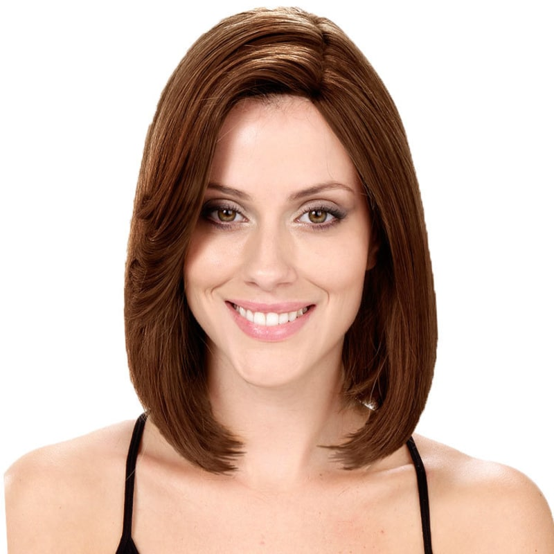 Crown Wigs Bianca Castanho Claro - Peruca 30cm