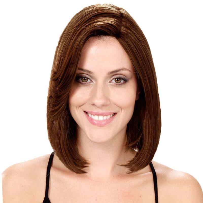 Crown Wigs Bianca Castanho Médio - Peruca 30cm