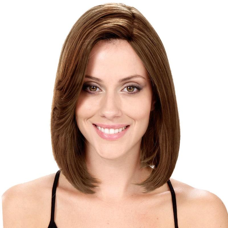 Crown Wigs Bianca Cor Castanho Médio/Claro/Louro Escuro - Peruca 30cm