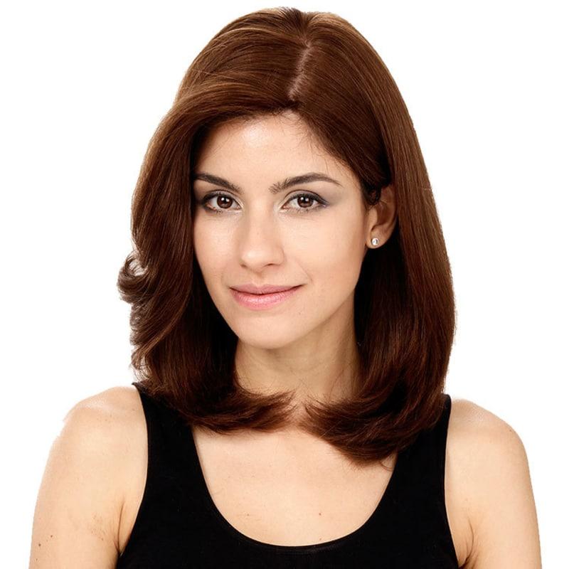 Crown Wigs Carol Castanho Médio - Peruca 35cm