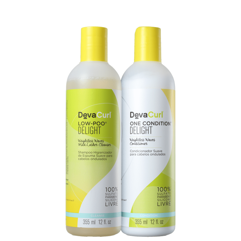 Deva Curl Delight Medium Kit (2 produtos)