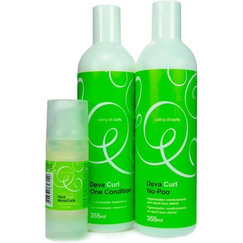Deva Curl Mirror Curls Kit (3 Produtos)