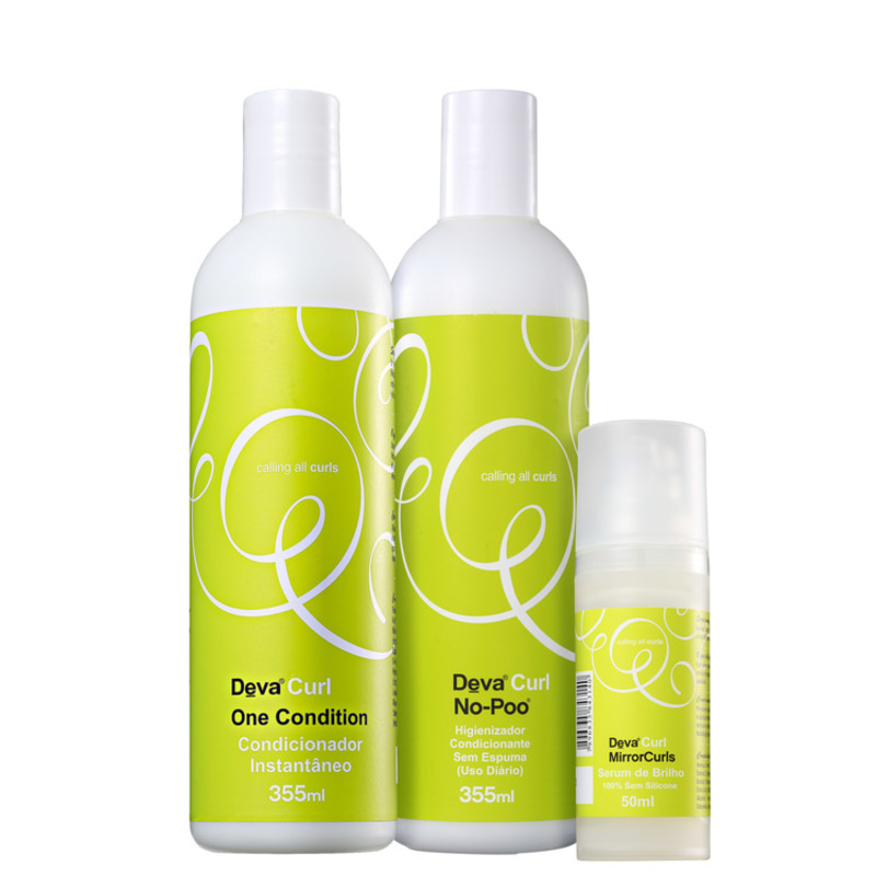 Kit Deva Curl Mirror Curls (3 Produtos)